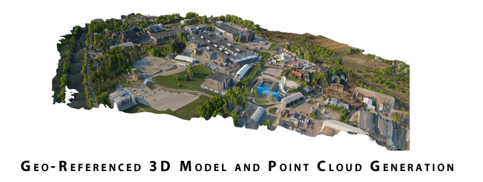 3D survey model generated from dronemapper.com